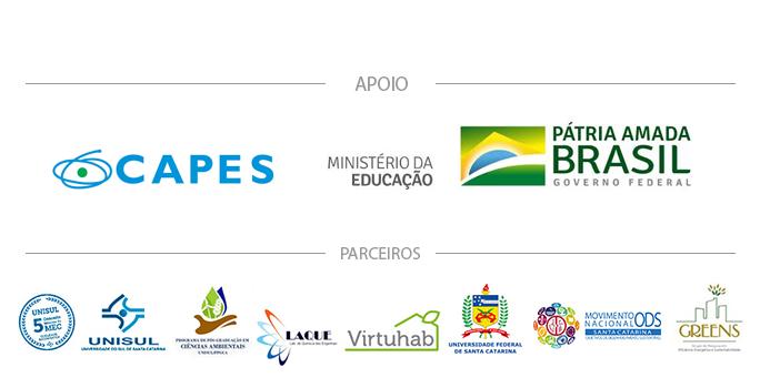 apoio e parceiros do ENSUS 2020