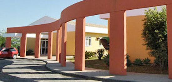 entrada do Campus Içara da Unisul