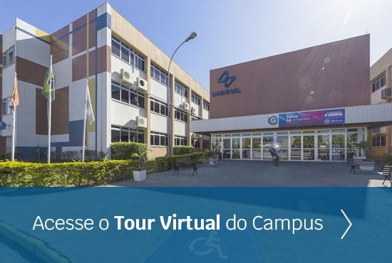 imagem com o link para o tour virtual do Campus Pedra Branca