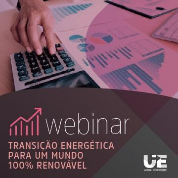 imagem do webinar transição energética