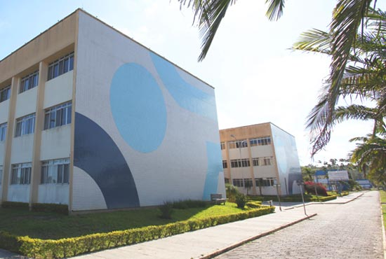 entrada do campus Araranguá